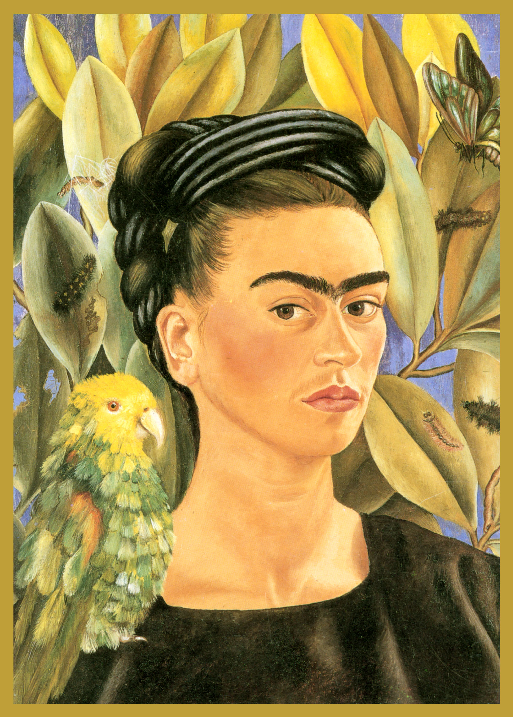 FR-PA1 - Frida KahloBeloved and influential Mexican painter of the middle twentieth century.
