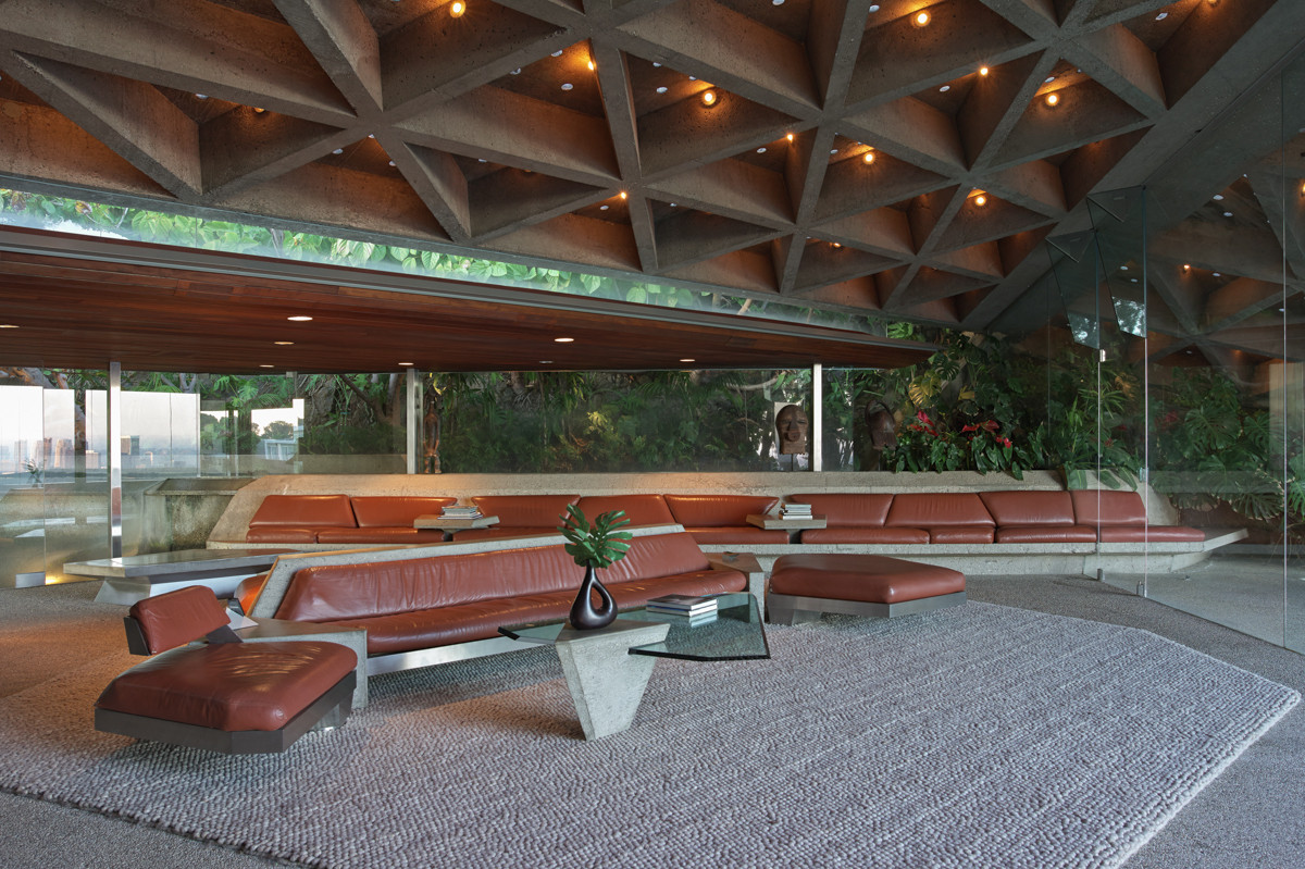 John Lautner, Sheats Goldstein Residence, Image: Jeff Green
