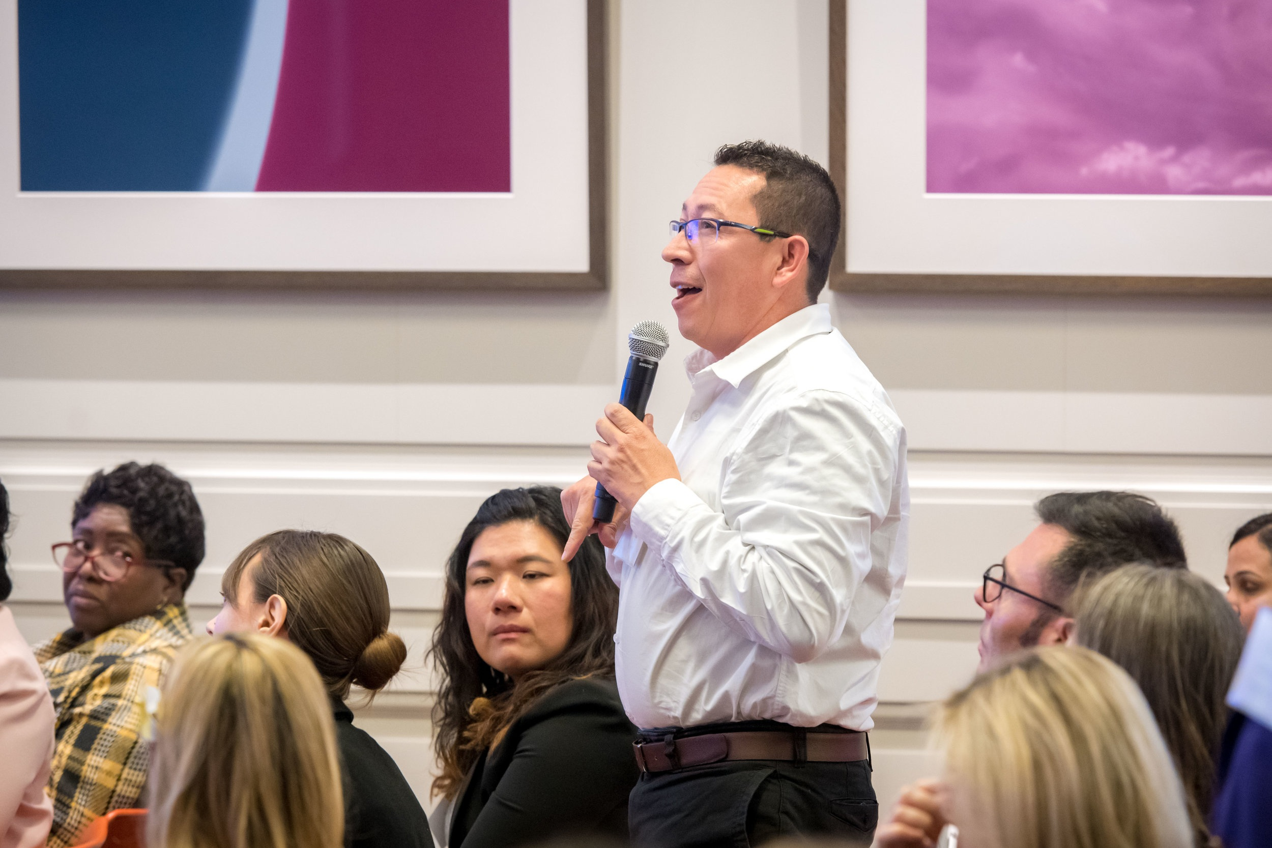 Educators from 32 cities gathered in New York City to discuss global digital education