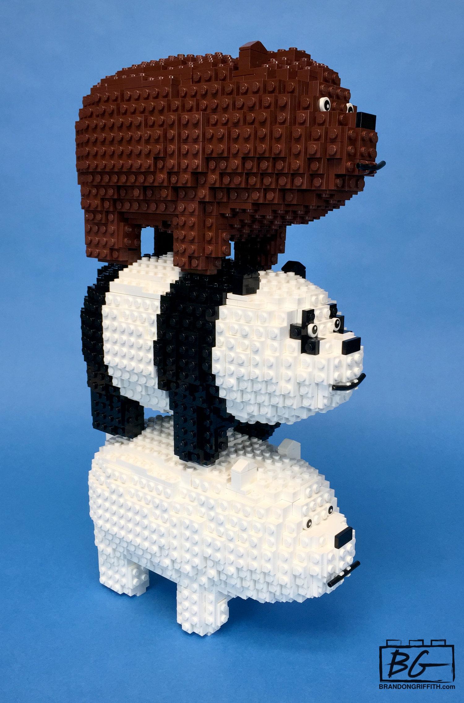 We Bare Bears Panda Hat - Free Crochet Pattern | 2272x1500