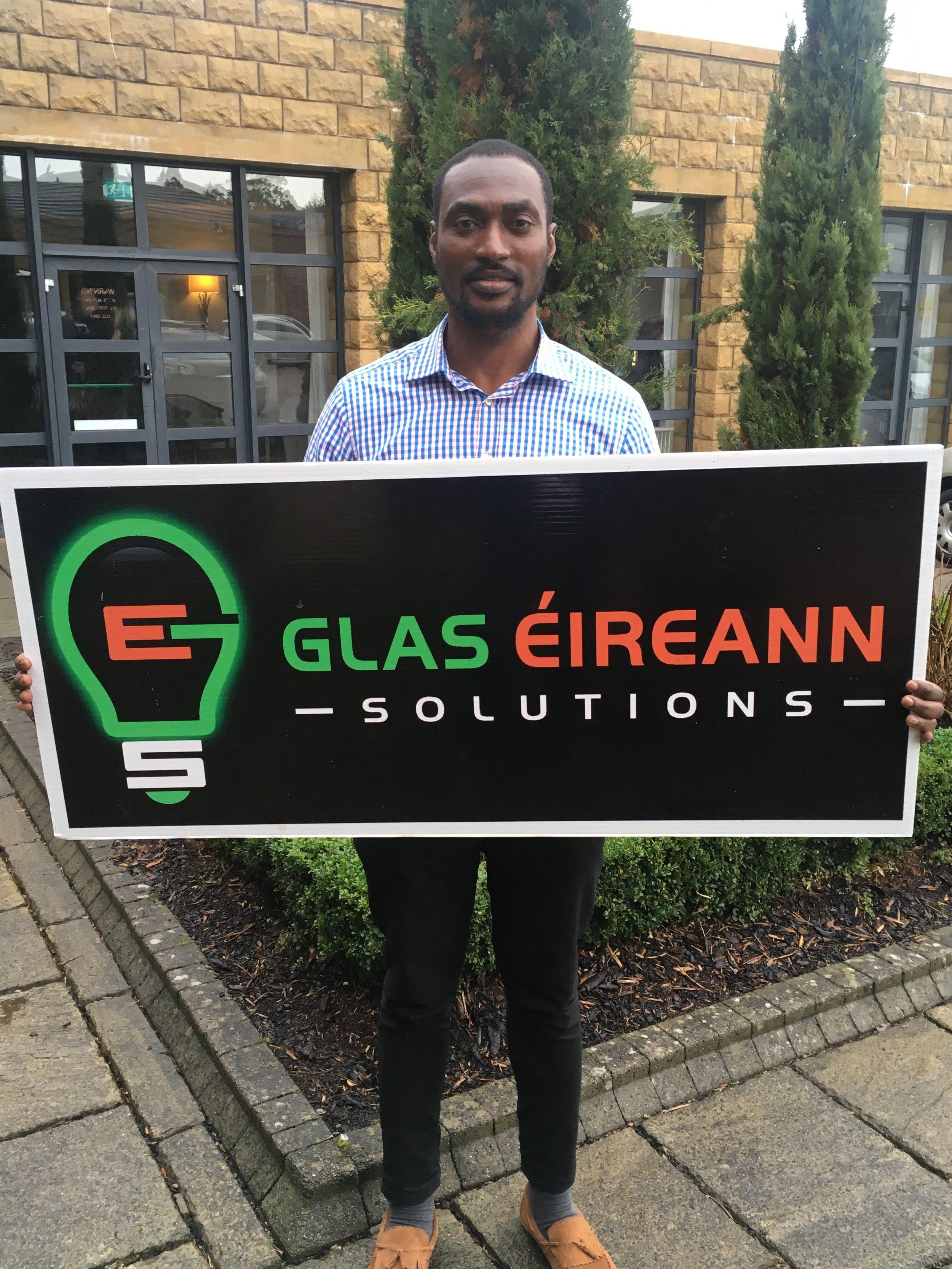New Chief Technology Officer Ekene Michael Gbanite.