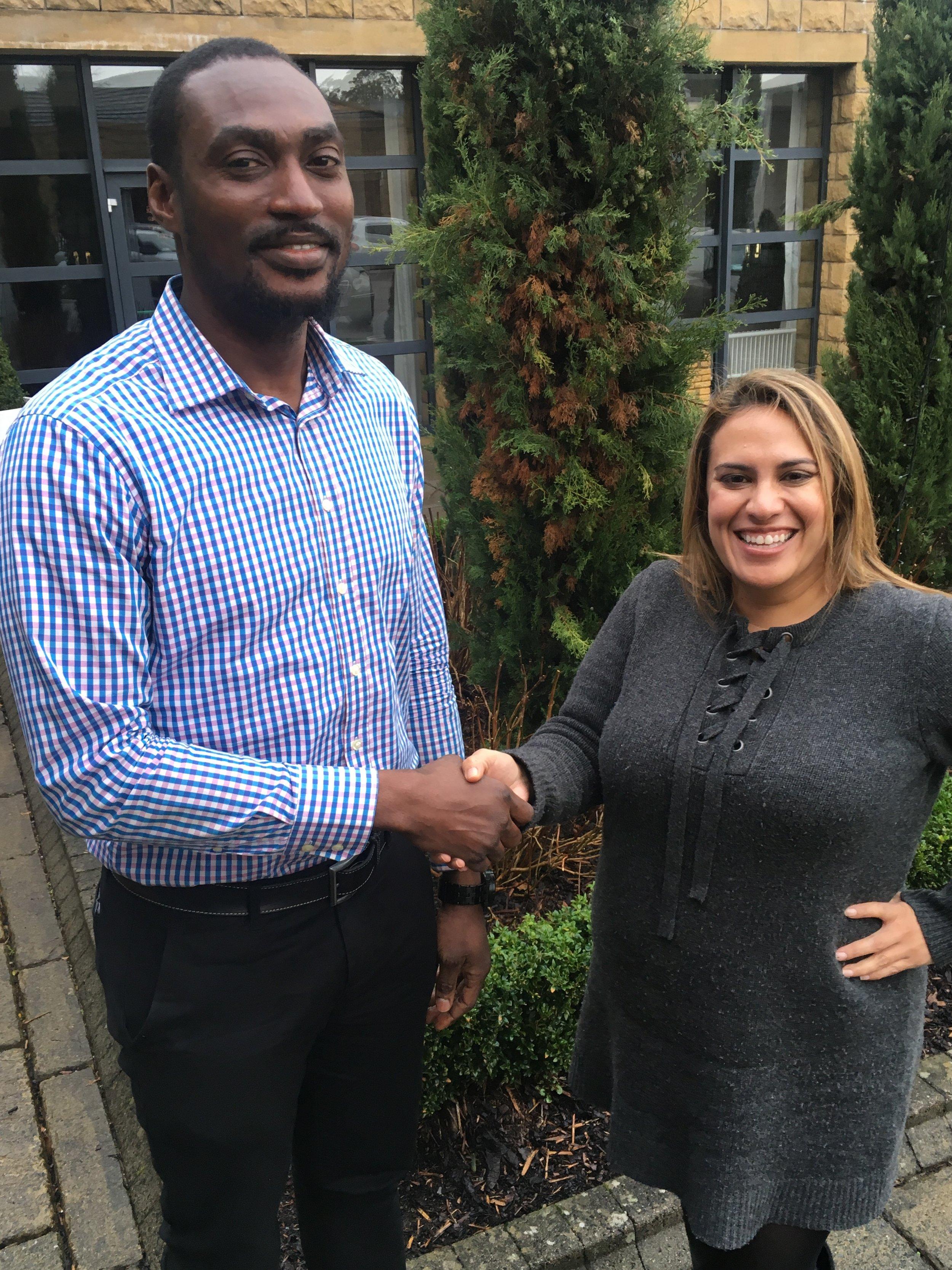 CEO Cori Calvert welcomes Ekene Gbanite to the team.