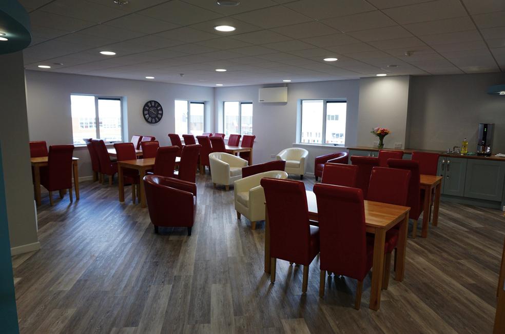 Glas Éireann Solutions Canteen facilities at Roselawn House