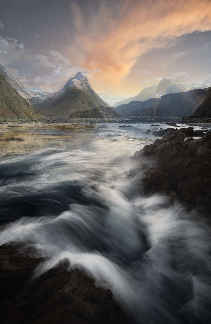 Wellington South Coast + Mitre Peak, Milford Sound