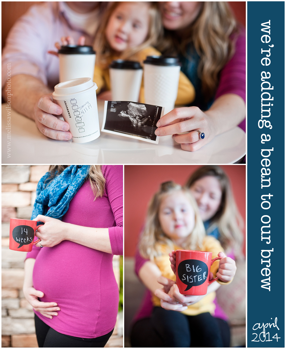 Coffee Pregnancy Announcement