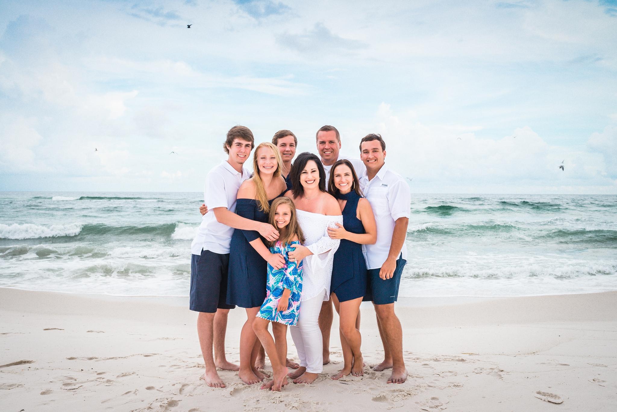 Family-beach-vacation