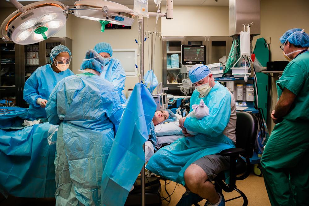 pensacola_birth_photographer_sacred_heart_hospital_csection_Dr_Prafke_The_Women's_Group