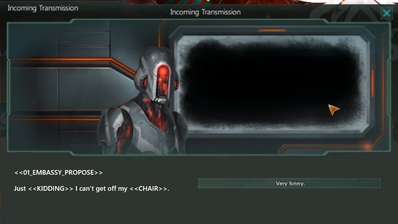 Image: A would-be AI overlord decides not to conquer the galaxy. PC u/FelipeCyrineu