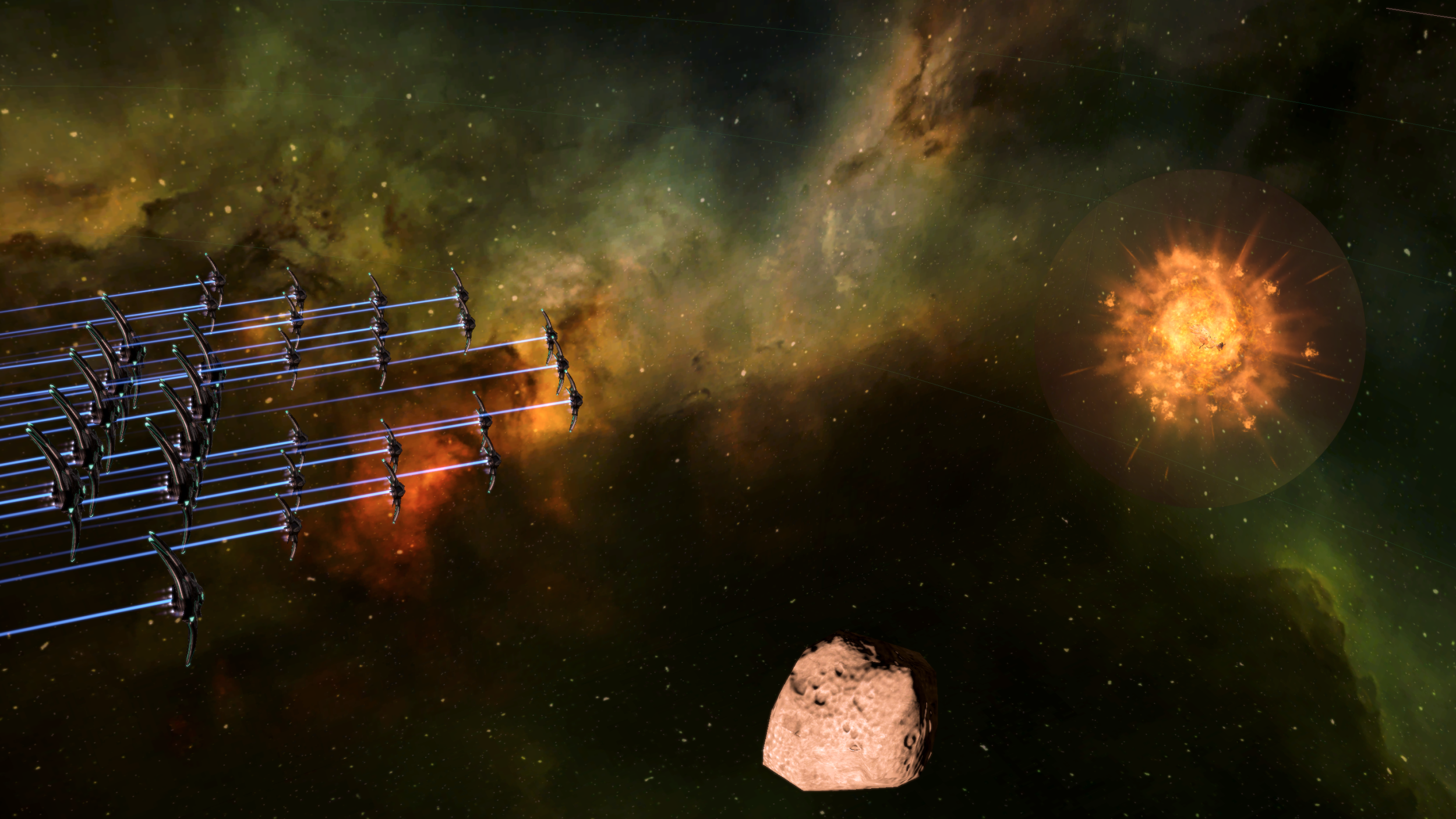 Image: The pirate station  ISS Rock Ahoy  is peacefully disabled by the Techzid Shard Fallen Empire