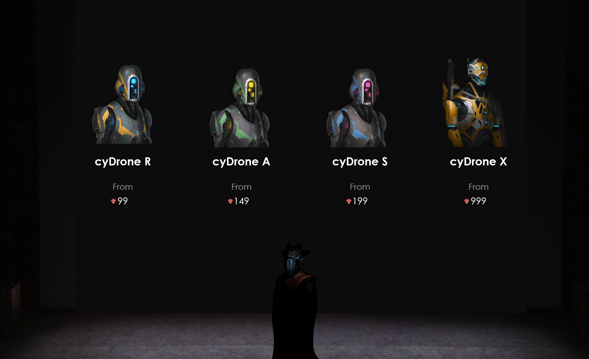 "Image: The evolution of the T-series models, commonly known as ""cyDrones"""