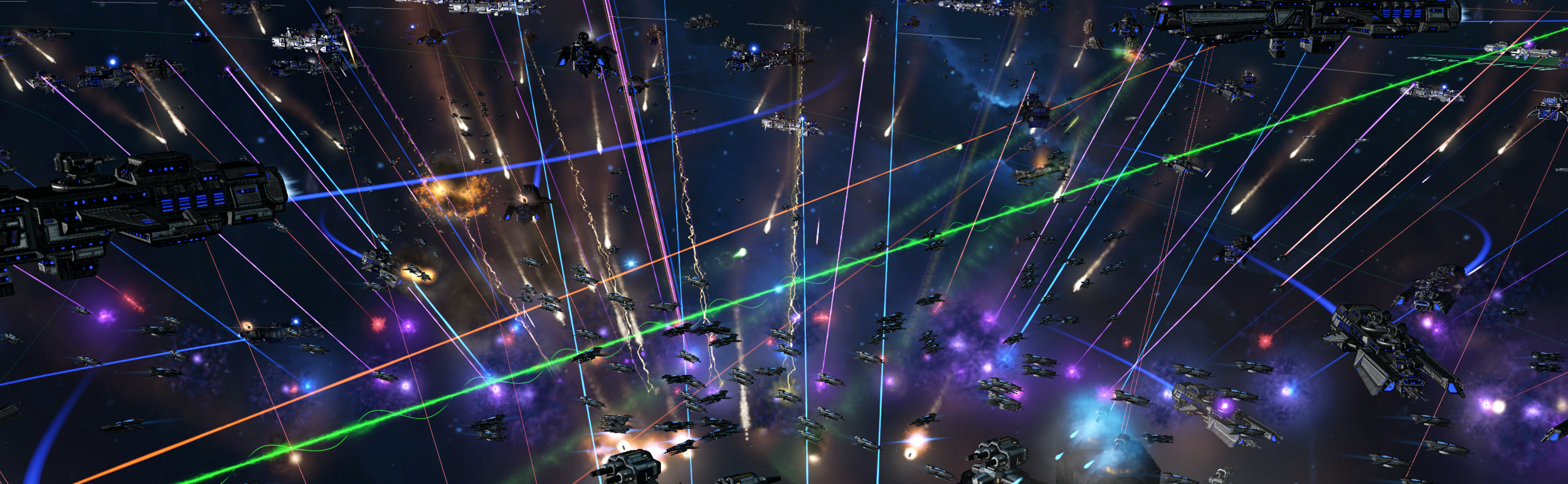 Image: Through the Lanchester Act, the Galactic UN is hoping to reduce doomstack associated casualties such as the above experienced in the bloody Cevanti-Yndari Brawl.