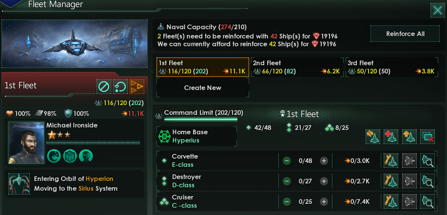 Image: The new Fleet Manager computer program was developed in consortium with the Galactic UN to help streamline naval logistics.