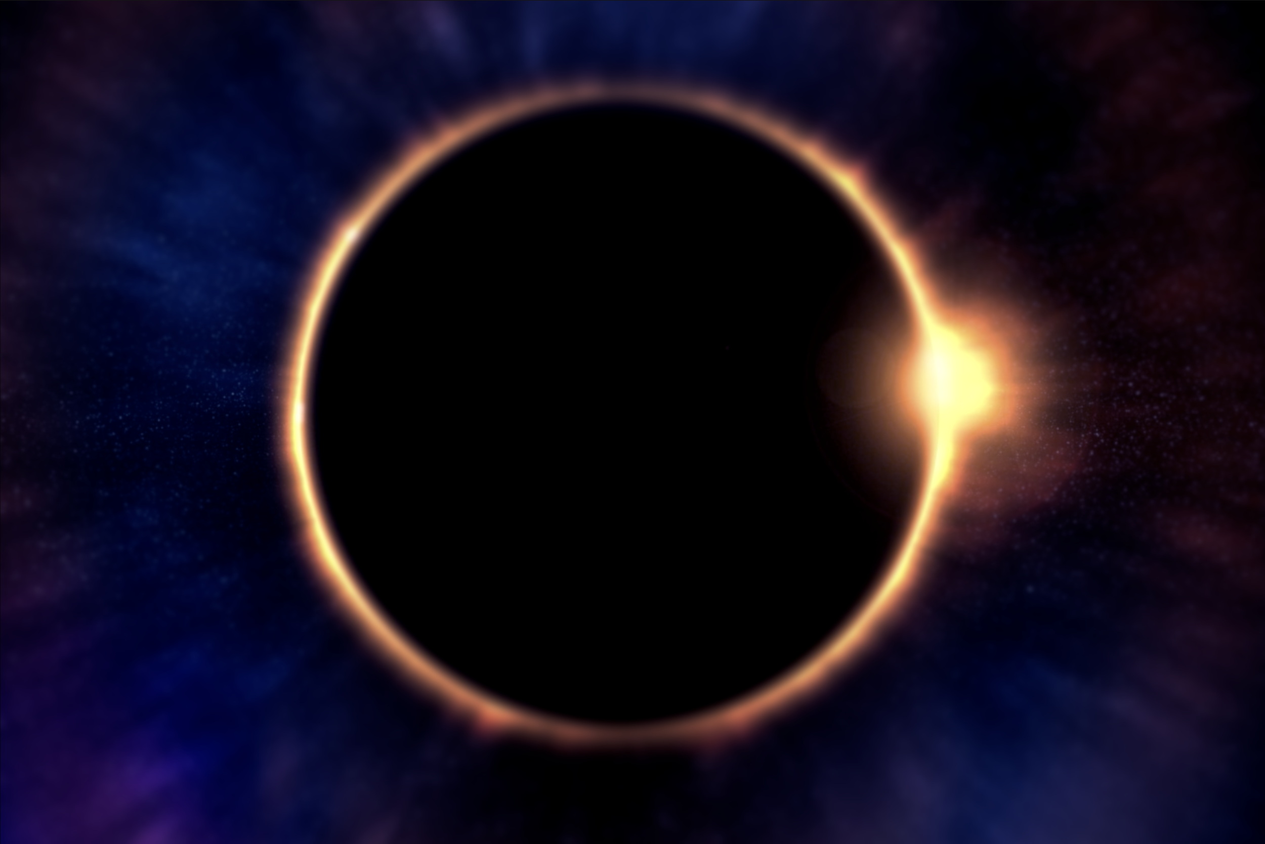 Image: The eclipse as viewed from Earth's capital, Ulm.