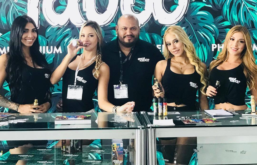 Taboo E Liquid Team - Vape South America Expo 2019