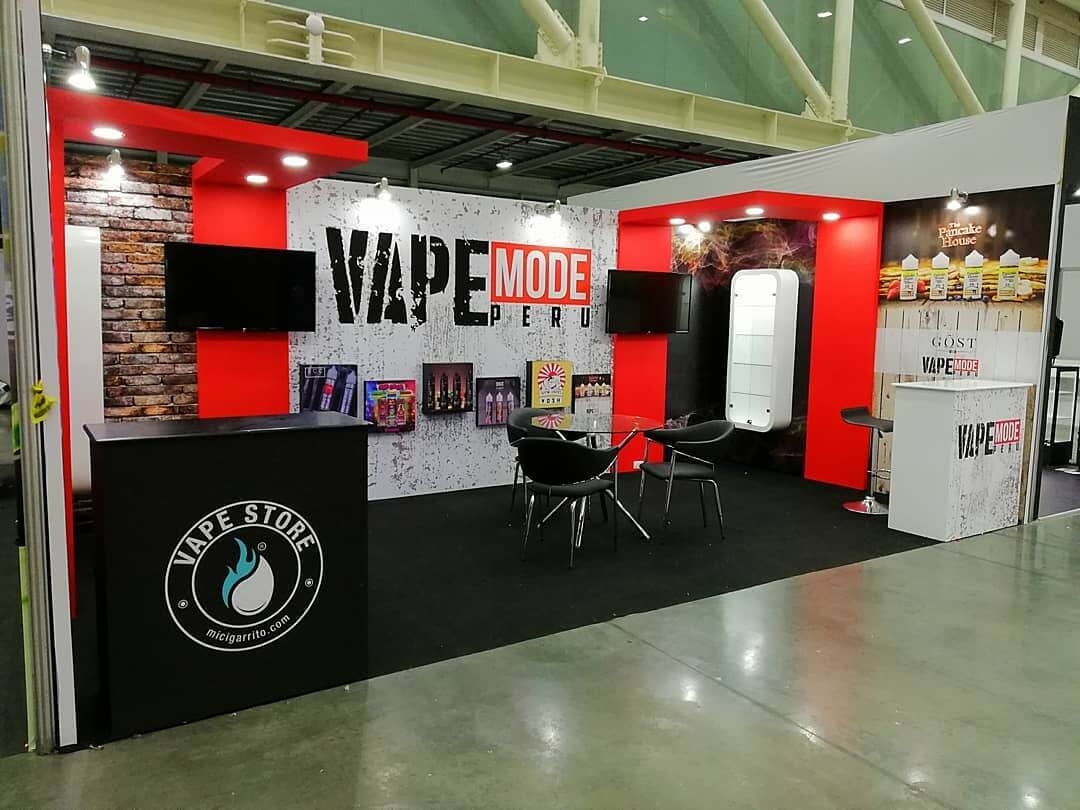 Vape Mode Peru Booth - Vape South America Expo 2019