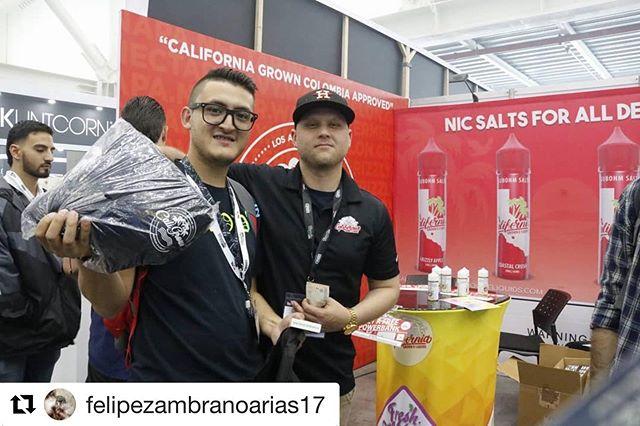 Next stop 🇵🇪 Perú @felipezambranoarias17 ・・・ Thanks a lot  #Expovape2019 #vapesouthamerica