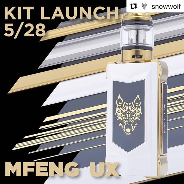@snowwolf ・・・ MFENG UX Kit now available. 💎The 5 winners for last weeks VSA giveaway are⤵️ . . . . . . @minombreeseyner @joshuabuzbee @x.xkitten @cryvapy @devlin_vapes . Please dm us with your full name, ID. And address . .  #VapeTricks #VapeLife#VapeLifeStyle #VapeLyfe #Vape#Vapor #Vaper #VapeNation#InstaVape #SmokeTricks#Vapestagram #Vaping #Vaporizer