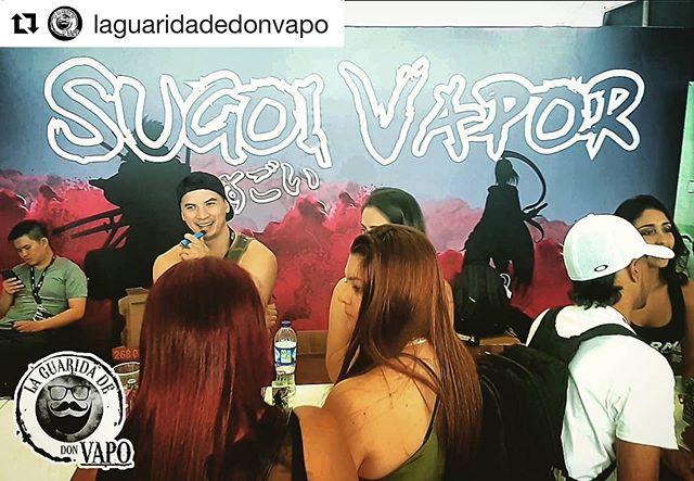 "@laguaridadedonvapo ・・・ ""Sugoi Vapor"" VSA Expo Vape Colombia 2019 @sugoivapor @vsaexpo #vsaexpo2019 #donvapo #elvapeosalvavidas #noeshumoesvapor #novapeoclones"