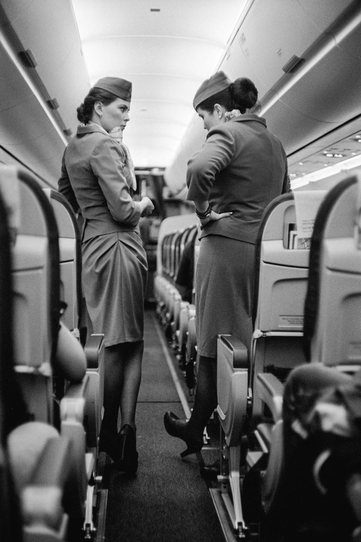 Flight Attendants in France, 2017.