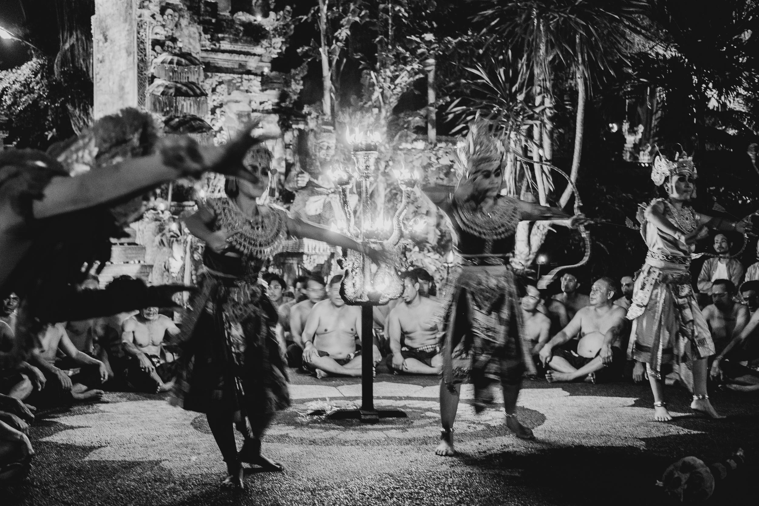 Kecak Fire Dance, Bali, Indonesia, 2018.