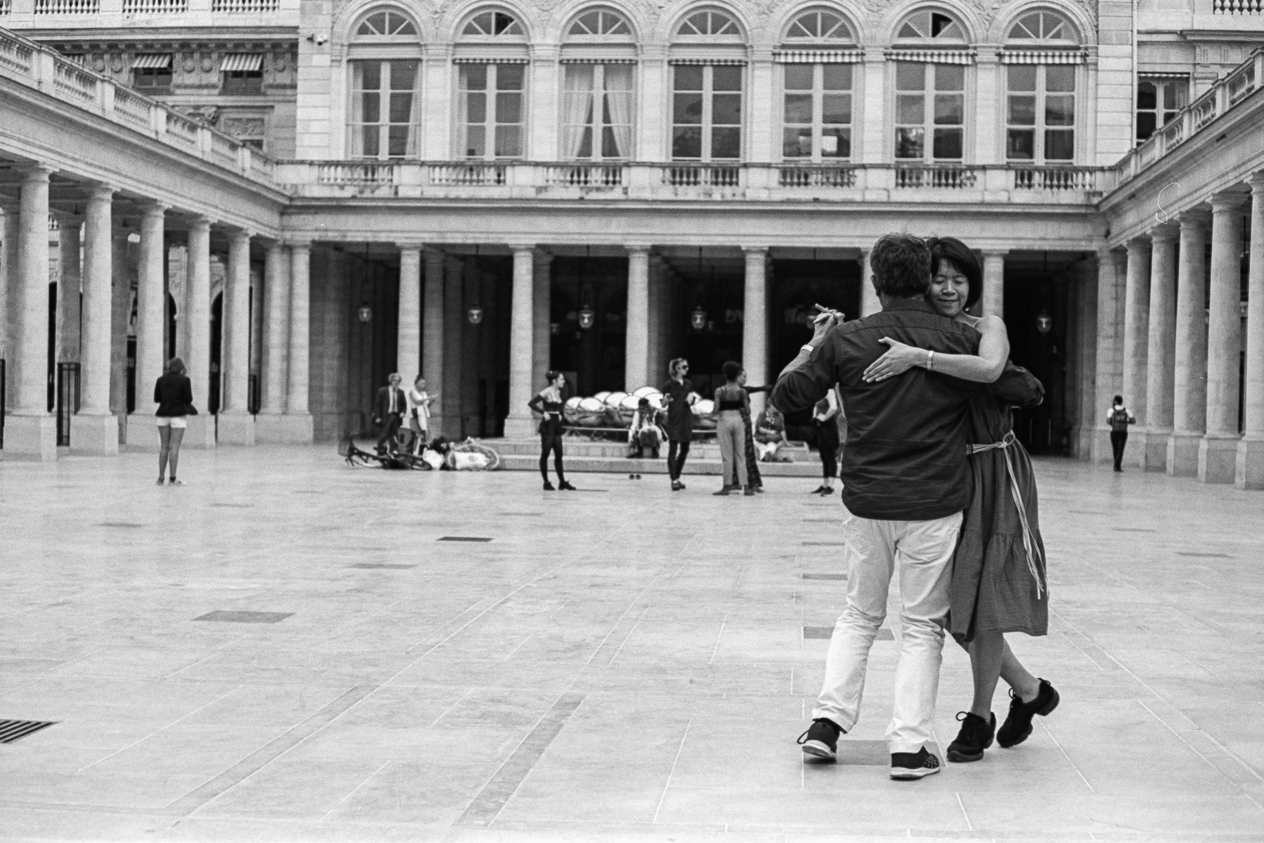 Palais-Royal, Paris, 2019.