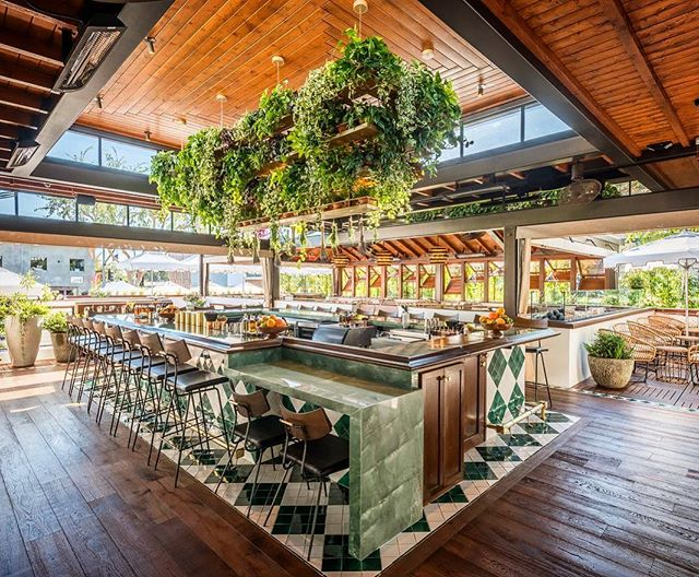 Drinks served here. Designing spaces where you want to get lost in. The challenge here was in creating a bar that worked at all hours of the day/night in full light and no light. #eatconservatory #ageoldtrade #weho