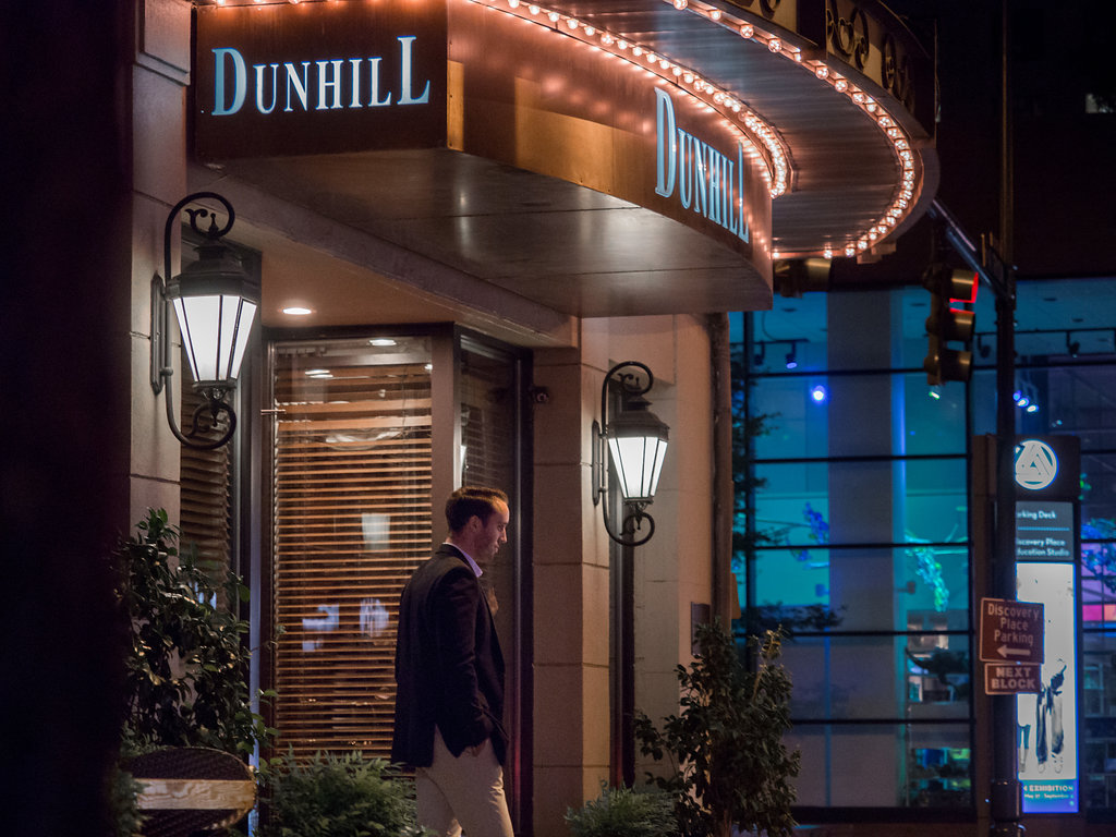 Dunhill Hotel Uptown Charlotte NC Wedding Engagement Photographer Surprise Proposal Photography