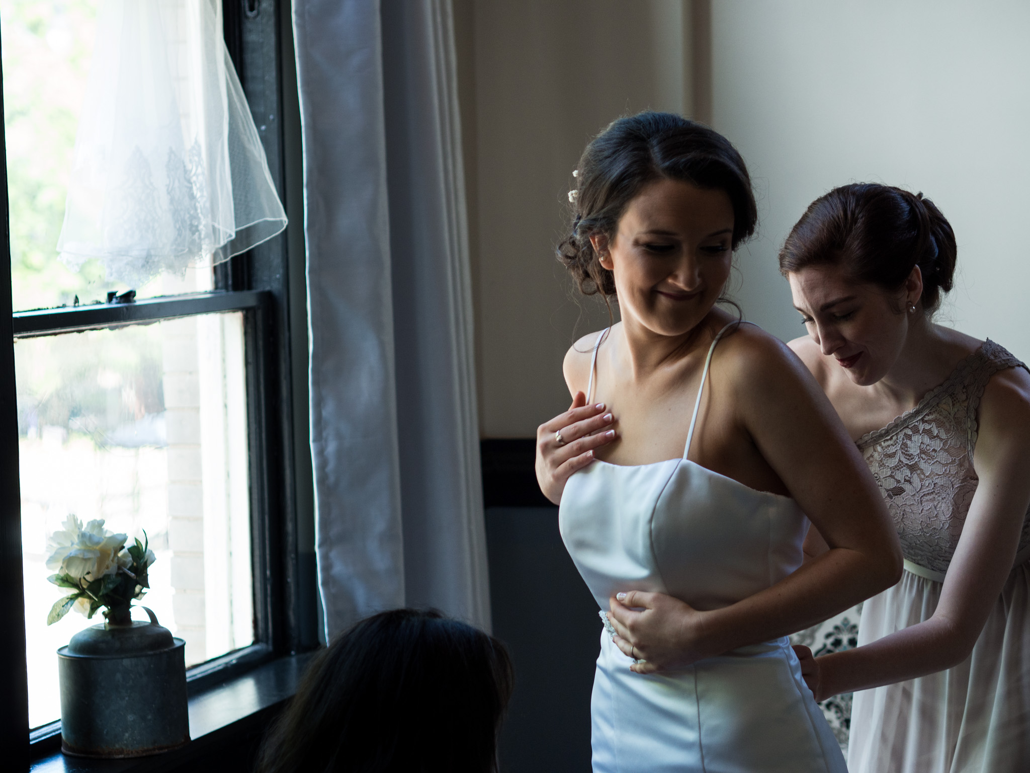 214 Martin Street, Wedding Photography, Wedding Dress, Getting Ready, Bridesmaid