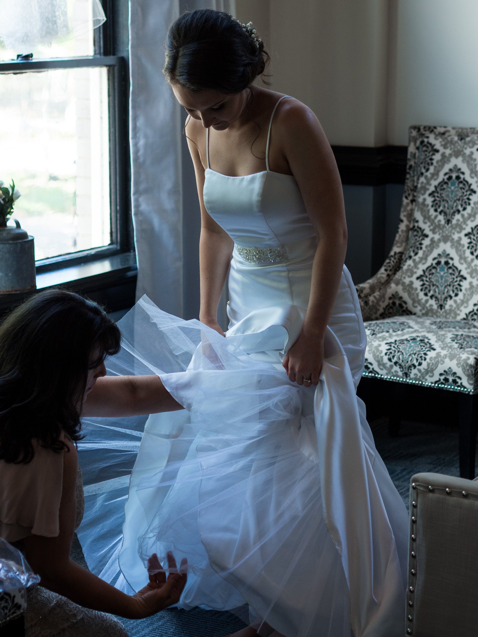 214 Martin Street, Wedding Photography, Wedding Dress, Getting Ready, Bride, Mother