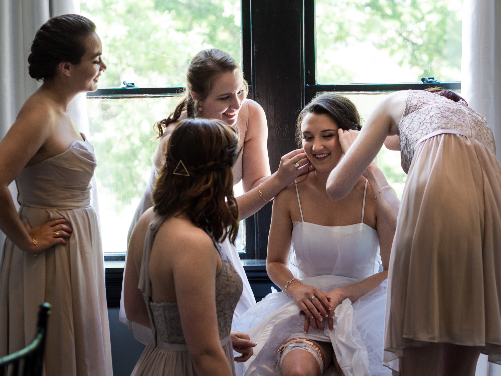 214 Martin Street, Wedding Photography, Wedding Dress, Getting Ready, Bridesmaids, Bridal Party
