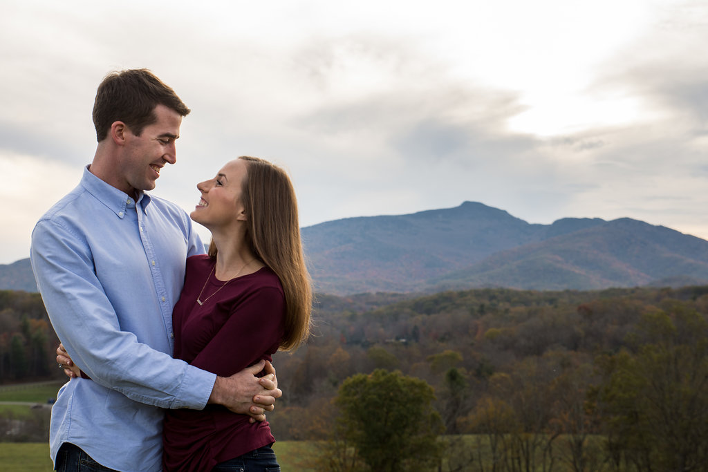 Blue Ridge Mountains NC Fall Family Photo by Party of Two Photography