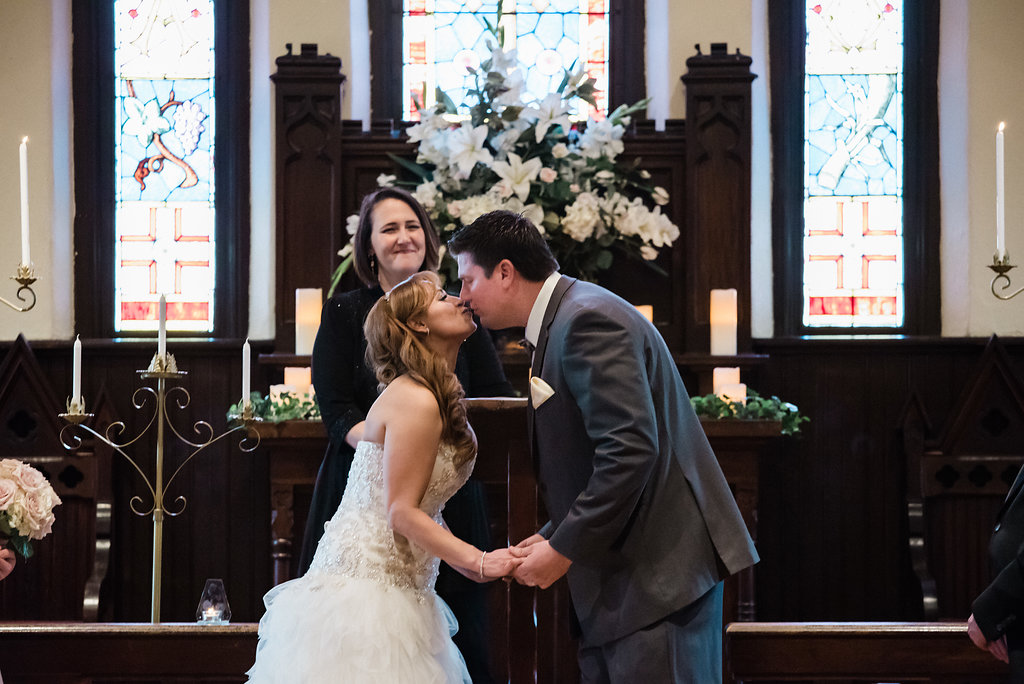 Ceremony at St. Mary's Chapel in Charlotte NC