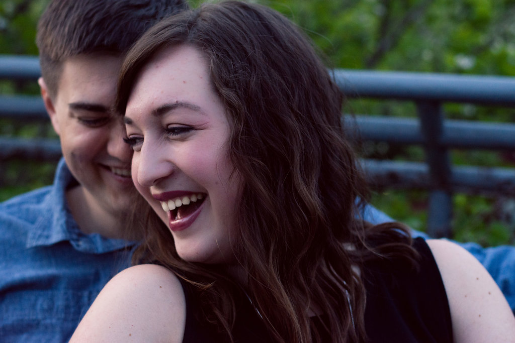 Raleigh JC Raulston Arboretum Engagement Session from Charlotte Wedding Photographers