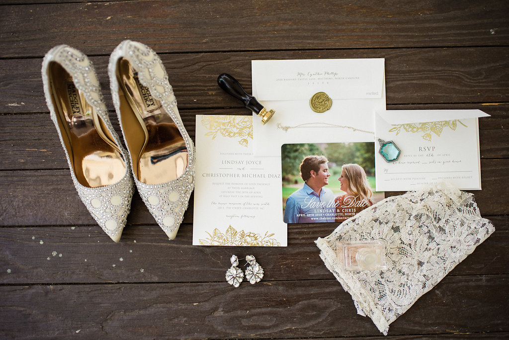Wedding Details at Bungalow 1325 from Charlotte Wedding Photographer