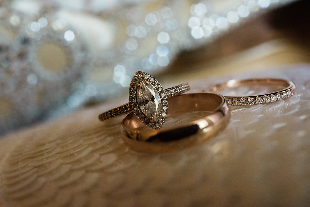 Gorgeous Ring Shot at Bungalow 1325 from Charlotte Wedding Photographe
