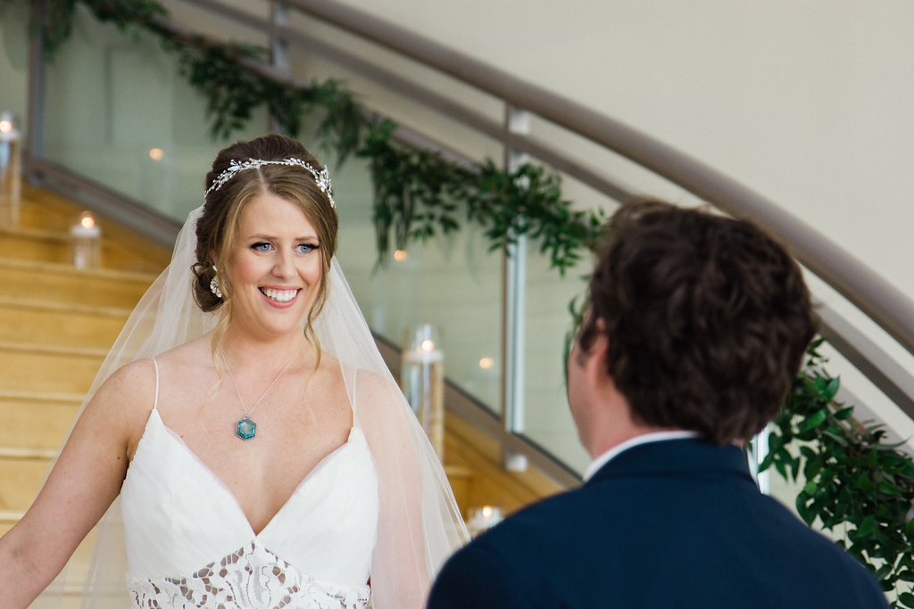 First Look at Levine Museum of the New South from Charlotte Wedding Photographer