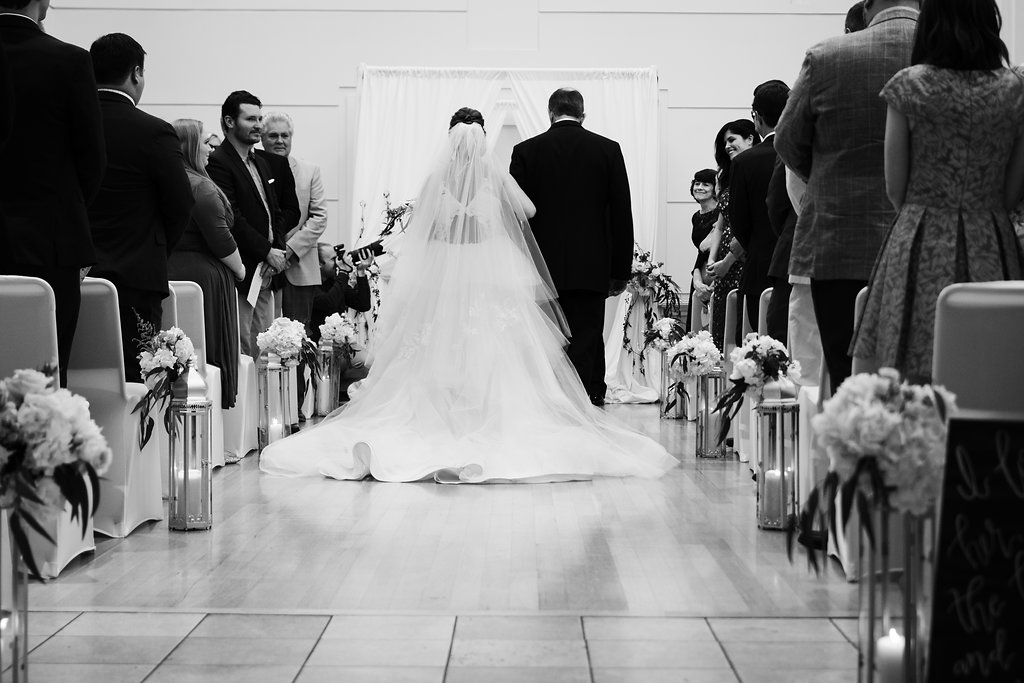Wedding Ceremony at the Levine Museum of the New South from Charlotte Wedding Photographer