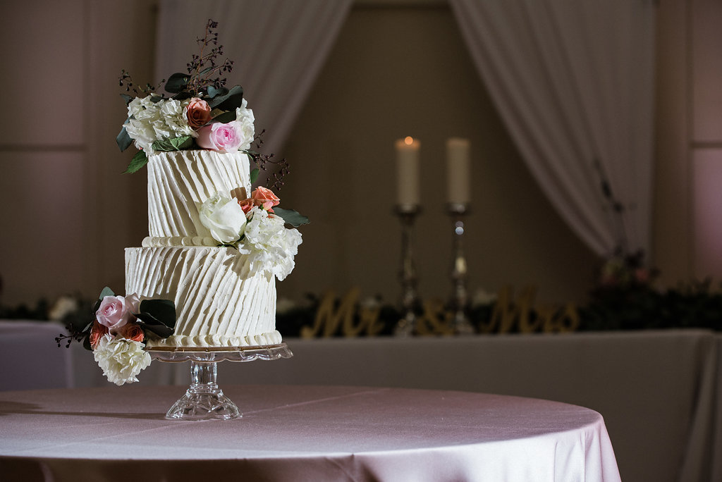 Cake Reception Details at the Levine Museum of the New South from Charlotte Wedding Photographer