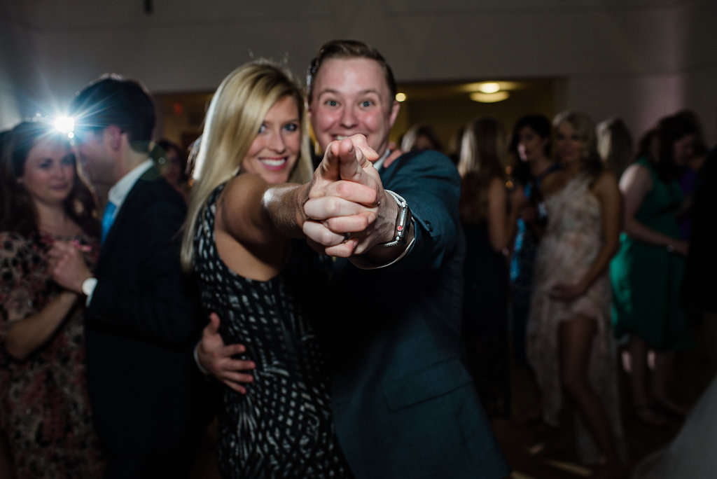 Reception Dancing at Levine Museum of the New South from Charlotte Wedding Photographer