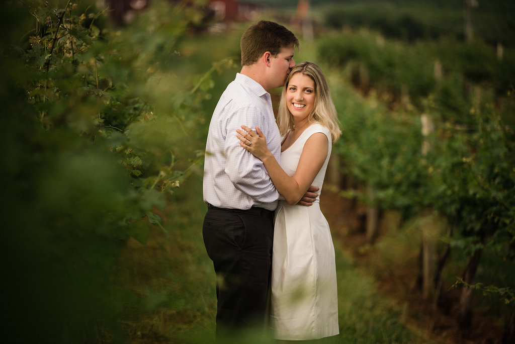 Carter Mountain Orchard Engagement Session in Charlottesville VA from Charlotte Wedding Photographer