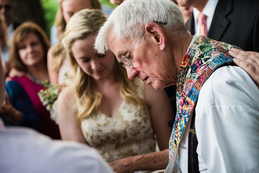 St. Patrick Episcopal Church Elopement Ceremony in Mooresville, NC from Charlotte Wedding Photographer