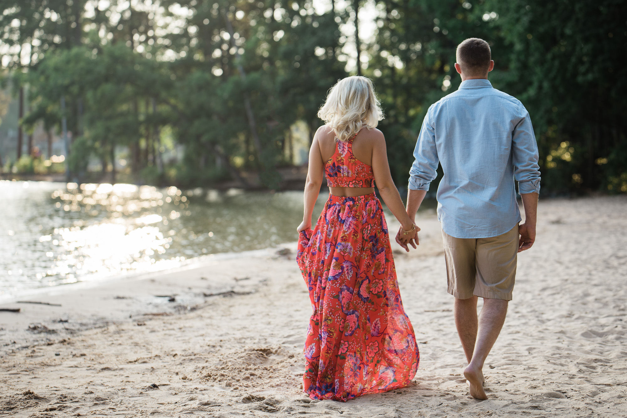 Jetton Park Engagement session from Charlotte Wedding Photographer