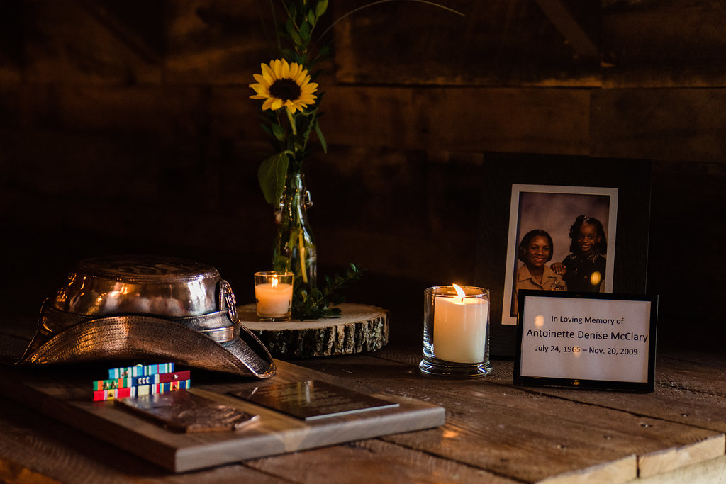 Reception Details at Summerfield Farms from Charlotte NC Wedding Photographer