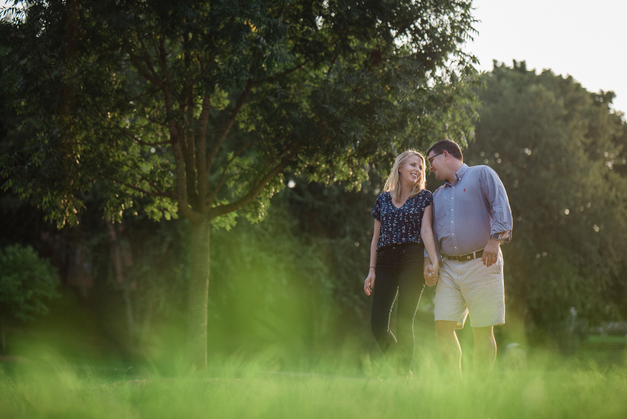 Independence Park Engagement Session by Charlotte Wedding Photographer