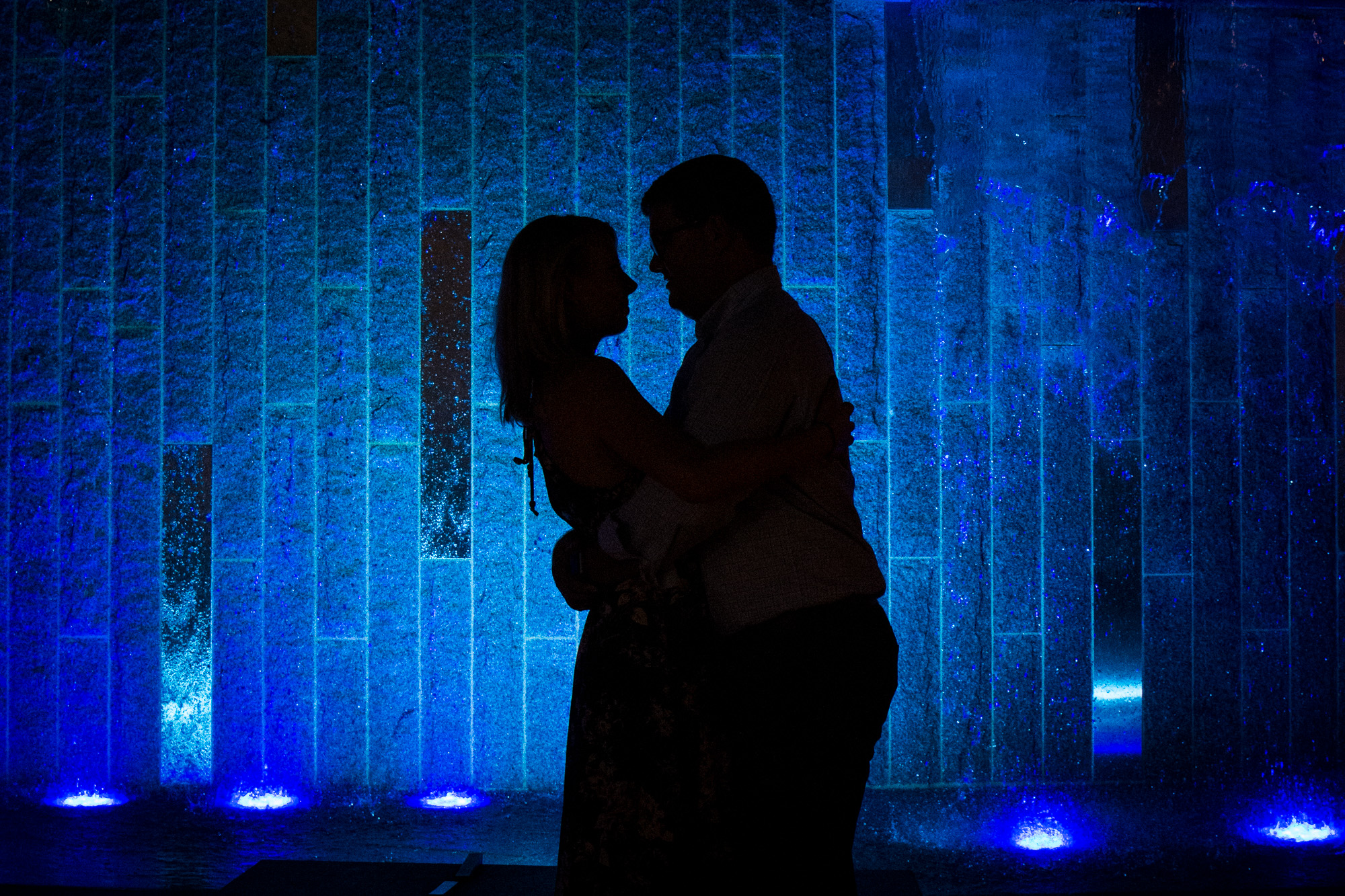 Uptown Romare Bearden Park Engagement Session by Charlotte Wedding Photographer