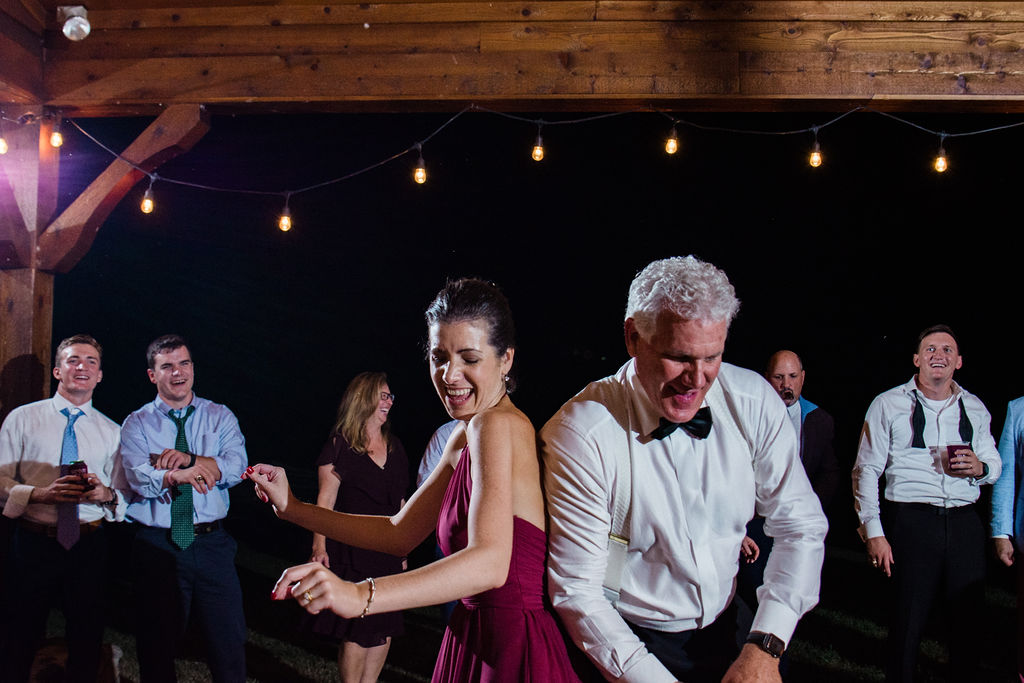 Reception Dancing at Historic Rural Hill by Charlotte Wedding Photographers