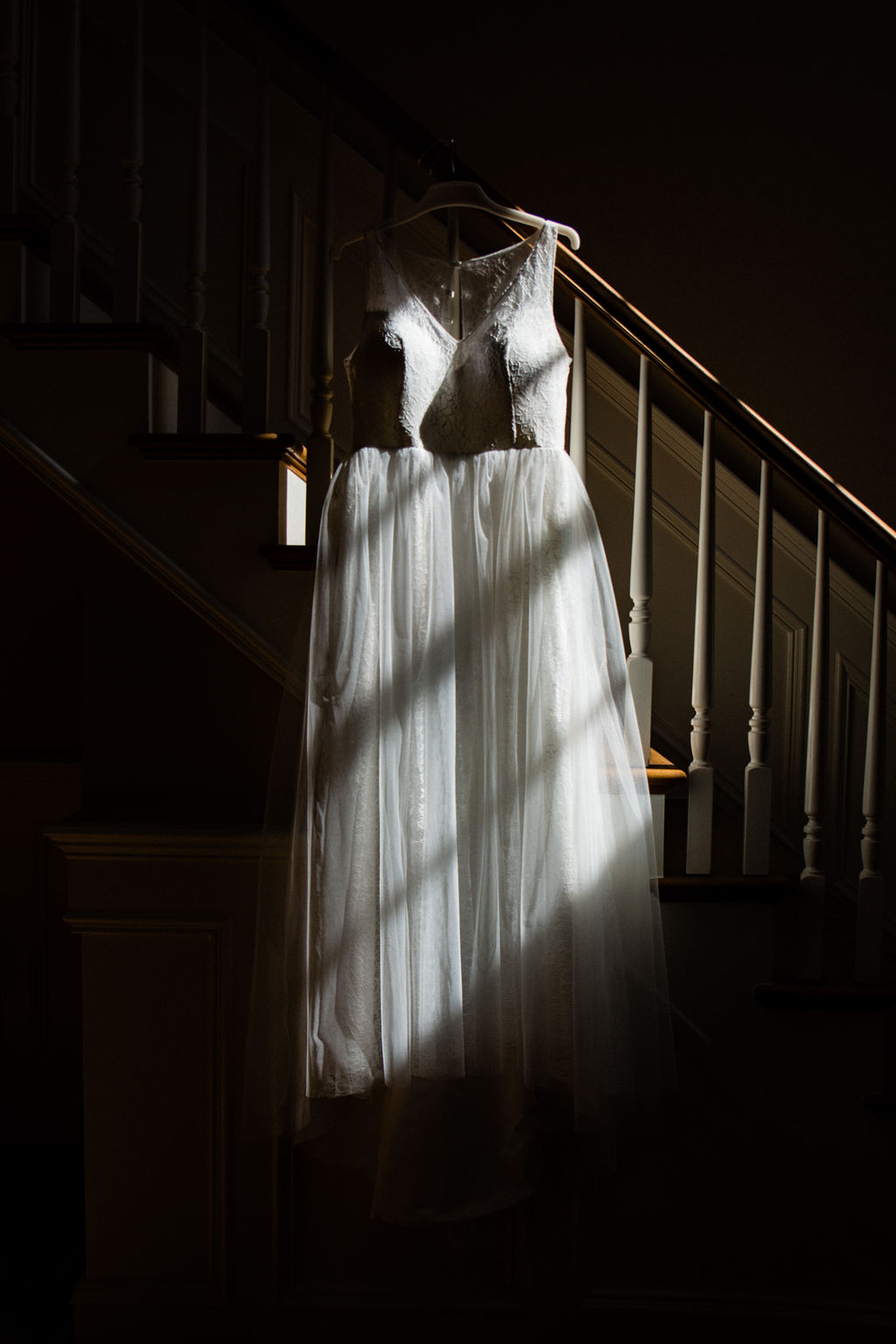 Wedding Dress from The Oaks at Salem Wedding in Apex, NC by Charlotte Wedding Photographers