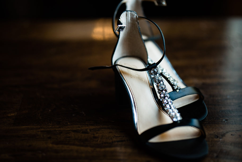 Shoe Detail at 8.2.0 Wedding by Charlotte Wedding Photographers