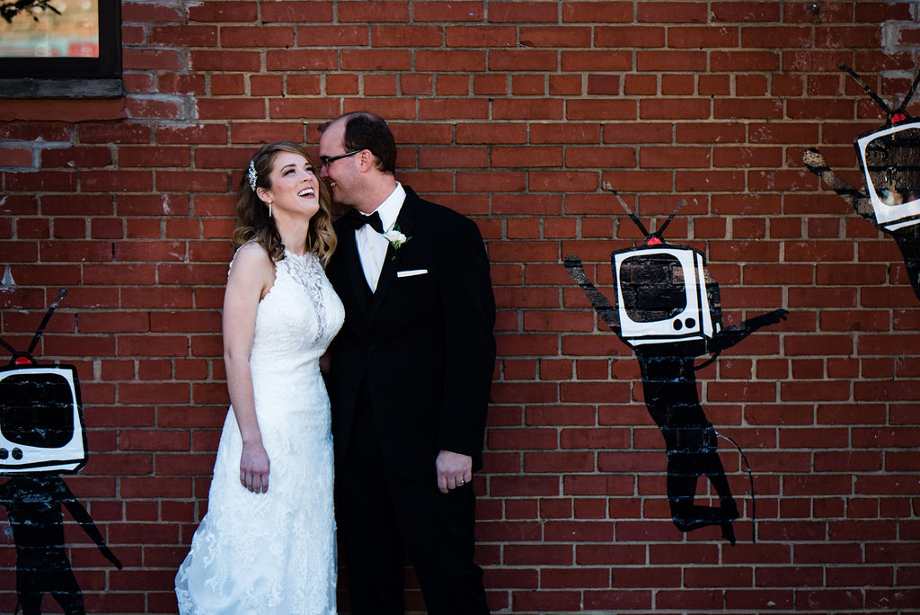 Couple's Portraits at 8.2.0 Wedding by Charlotte Wedding Photographers