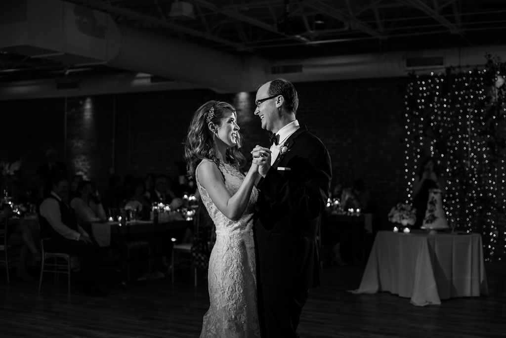 First Dance at 8.2.0 Wedding by Charlotte Wedding Photographers